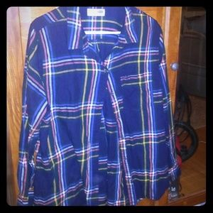 Great plaid flannel. Size large/xl. Old navy